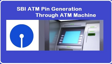 SBI ATM Pin Generation Through ATM Machine