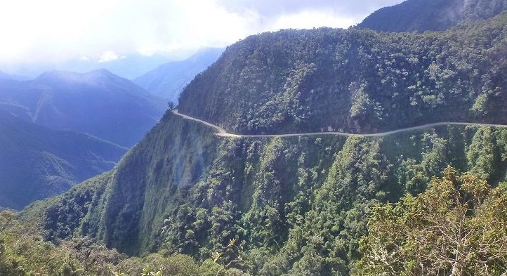North Yungas Road, Bolivia–